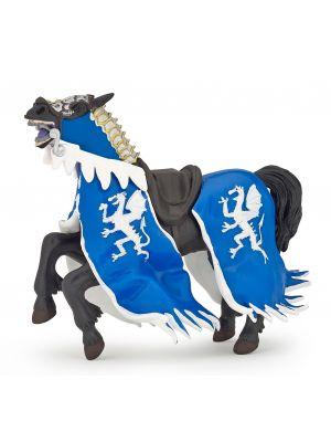Papo History Blauwe Drakenkoning Paard 39389