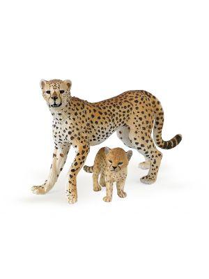 Papo 50044 Wild Cheetah Met Jong