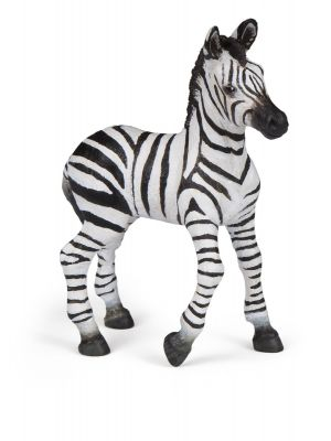 Papo Wild Life Zebra Veulen 50123
