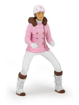 Papo Paard Winter Ruiter Meisje Roze 52011