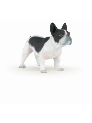 Papo Farm Life Hond Franse Zwart-Wit Bulldog 54006