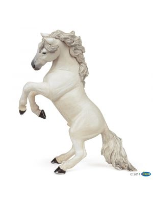 Papo Horses Wit Steigerend Paard  51521