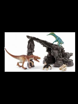 Schleich 41461 Dinoset met hol