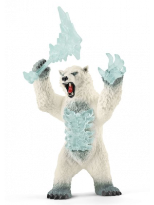 Schleich Eldrador 42510 Blizzardbeer met wapen