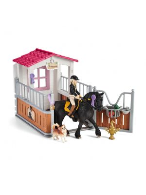 Schleich Horse Club Paardenbox met Horse Club Tori & Princess 42437