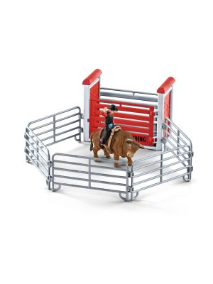 Schleich Farm World Rodeo met Stier en Cowboy 41419