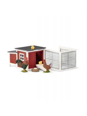 Schleich Farm World Kippenhok 42421