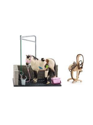 Schleich Paarden Wasplaats 42104
