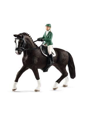 Schleich Horse Club Springruiter met Paard 42358
