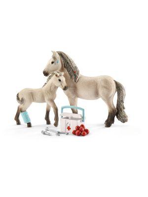 Schleich Horse Club EHBO Verzorgset & IJslands Paard 42430