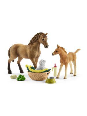 Schleich Horse Club Baby Dier Verzorging Set 42432
