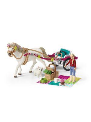 Schleich Horse Club Paardenkoets voor de Paardenshow 42467