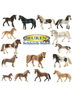 Schleich Paarden set 2017 15 Paarden