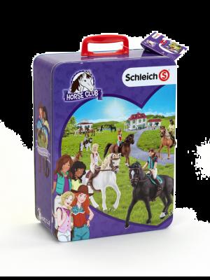 Schleich Paarden Horse Club Verzamelkoffer met 10 Vakken