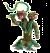 Schleich Eldardor 42513 Plant monster met wapen