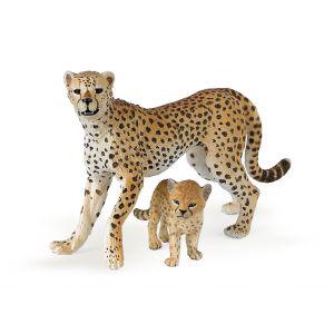Papo Wild Life Cheetah met Jong 50044