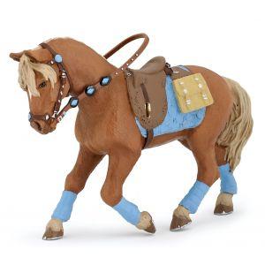 Papo Horses Paard Bruine Dressuur Pony 51544