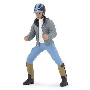 Papo Horses Paard Ruiter Jongen 52008