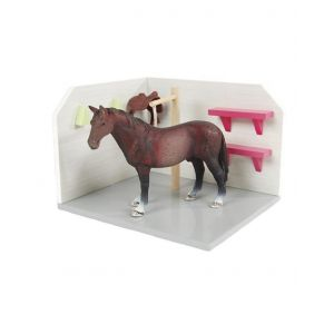 Kids Globe paarden wasbox roze (excl. accessoires) 610205