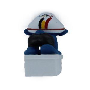 Schleich 40266 Belgische Olympische team Zwemmer Smurf 2012 limited edition