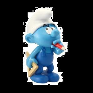 Plastoy Knutsel Smurf 13 cm