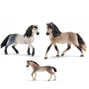Schleich Andalusier Paarden set 2017