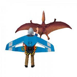 Schleich Dinosaurus 41467 Jetpack achtervolging