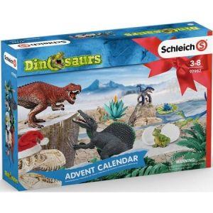 Schleich 97982 Adventskalender Dinosaurus 2019 met 24 Vensters