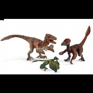 Schleich 42347 Dinosaurus Gevederde Raptoren