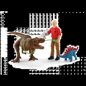Schleich Dinosaurus 41465 Tyrannosaurus Rex-aanval