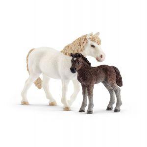 Schleich Farm World Pony Merrie met Veulen 42423
