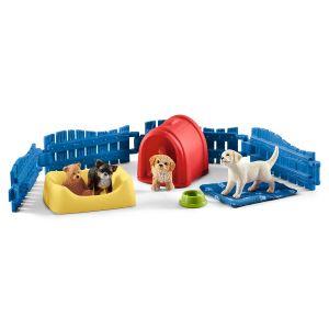 Schleich Farm World Puppy Plaats 42480