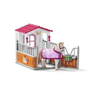 Schleich Horse Club Paardenbox met Lusitano Merrie 42368
